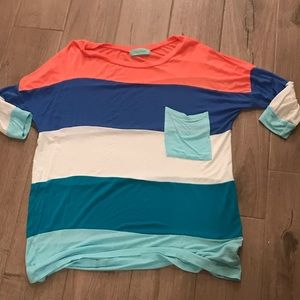 Tops - Boutique striped top